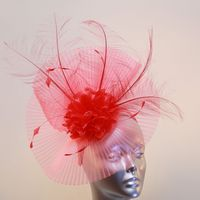 Luxurious Hot Coral Crin Hatinator 13966 SD520